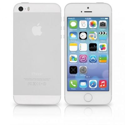 Picture of iPhone 5S White, Unlocked, 16GB, Grade A
