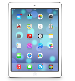 Picture of iPad Air Wi-Fi + Cellular 64GB - White Grade A