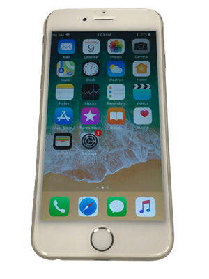 Picture of iPhone 6 Silver, 16GB, Unlocked, Grade A