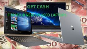 Picture of SELL YOUR USED OR NEW LAPTOP, CASH